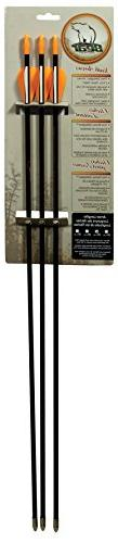 Bear Archery A1026 26 in. Safety Glass Vaned Arrows 3 Per Pa