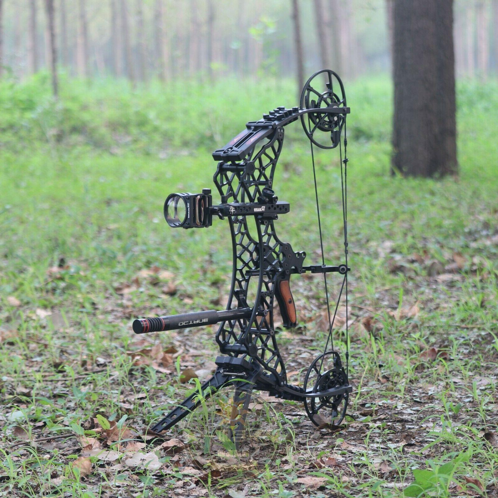 Archery Compound Let-off 90% Short Adjustable Hunting