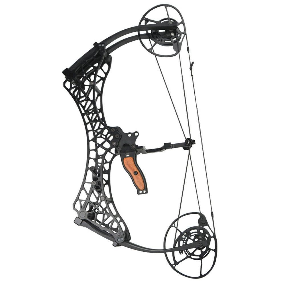 Archery Compound Bow Let-off Short Axis Adjustable Hunting Fishing