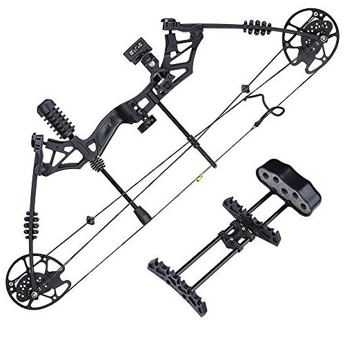 Archery Bow Right 12pcs Carbon Arrows Alloy Fiberglass