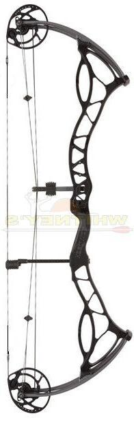 Bowtech Archery Fanatic 3.0 XL Right Hand Anodized Black DW