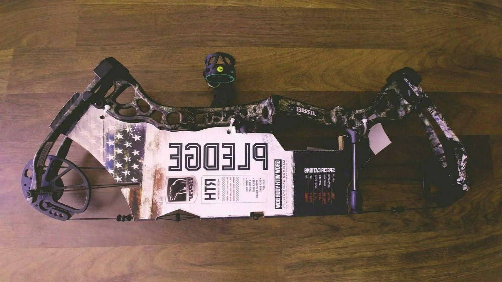 Bear Pledge Camo Package Compound Bow A7AT1117WM NEW