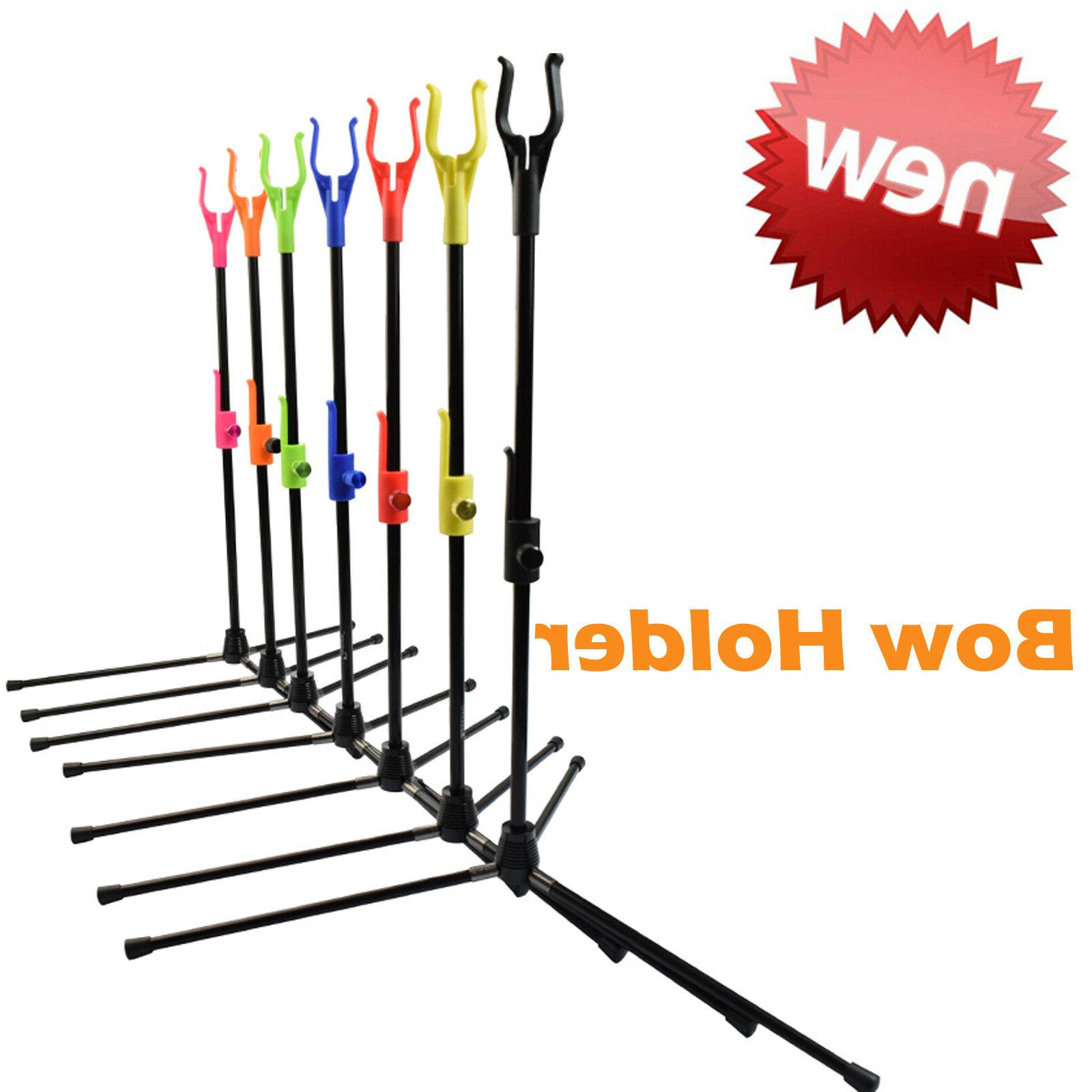 archery recurve bow stands compound bows holder