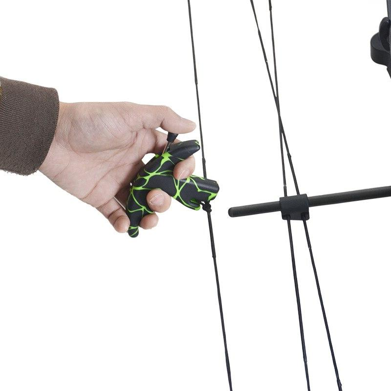 Archery Aid Thumb Style for Under on Strings Archery Release <font><b>Compound</b></font> <font><b>Bow</b></font>