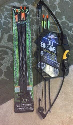 barnett lil banshee junior archery set kit