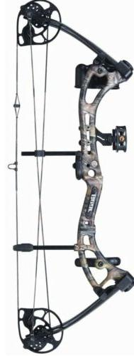 Bear Apprentice III 3 Compound Bow, Right Hand, Realtree, 15