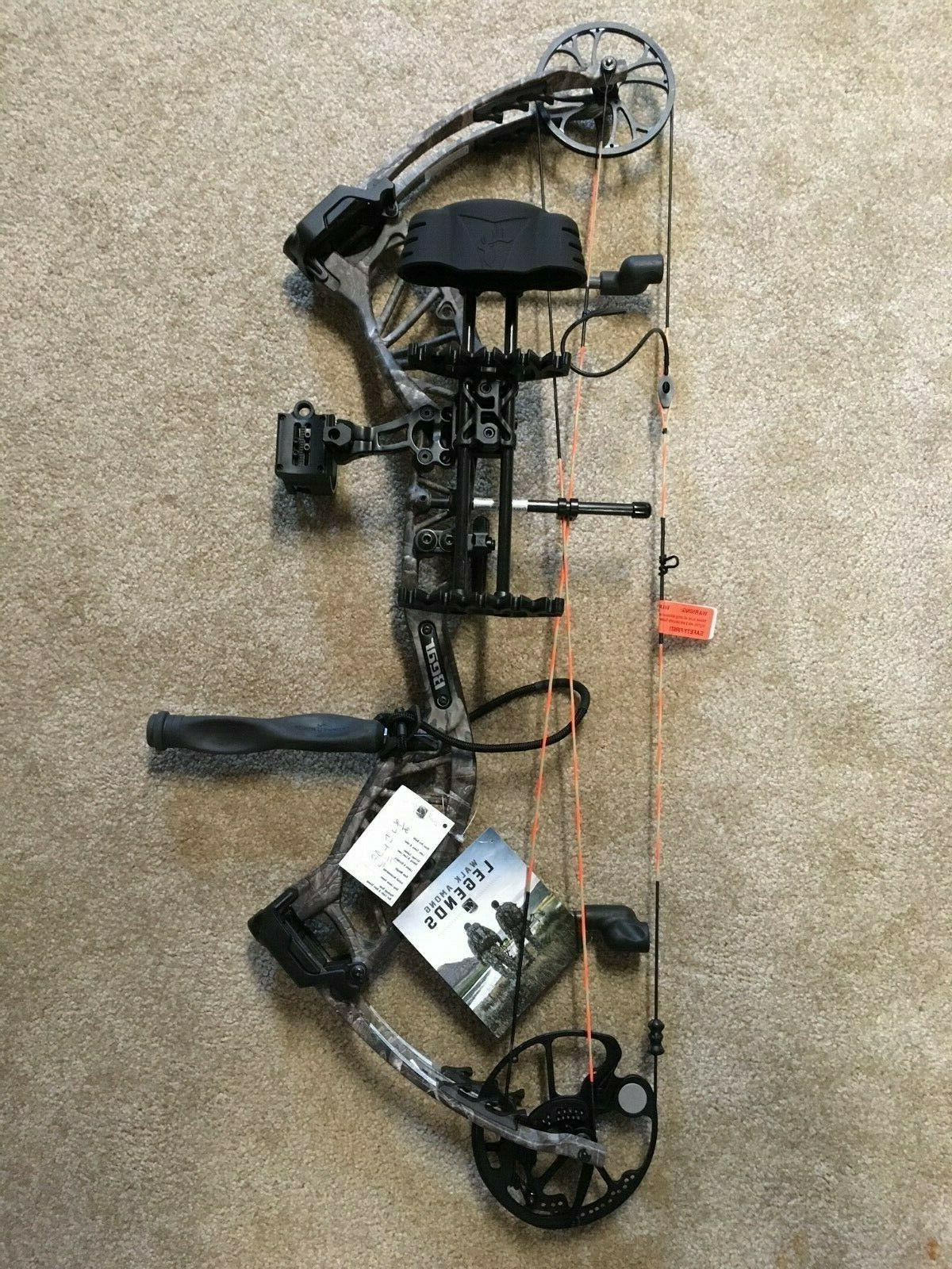 bear approach rth compound bow package new