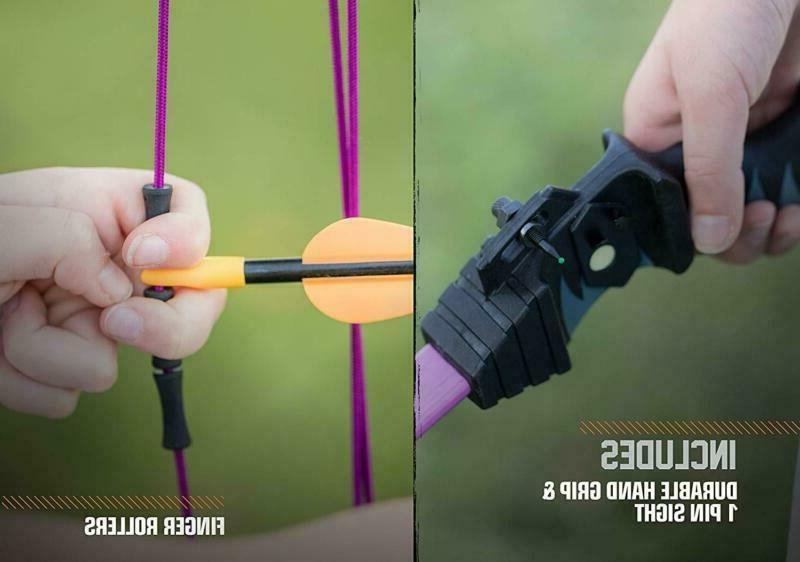 Bear Archery Scout Bow Arrow Set Left Right Hand Shooters Junior Kids