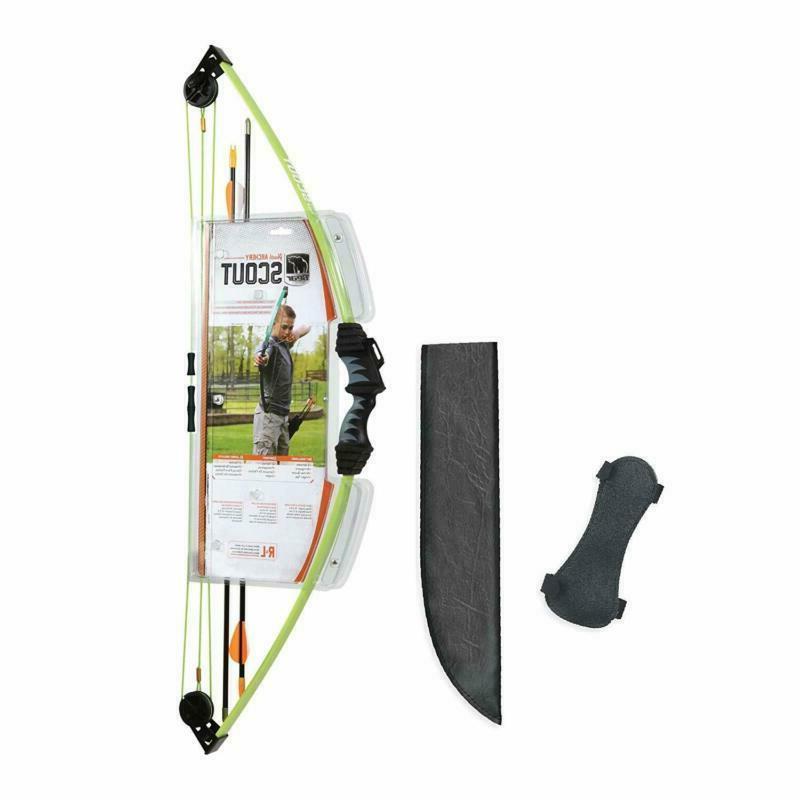 bear archery scout bow arrow set left