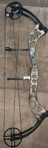 """Bear wild compound bow New!!RH Factory set at 29"""" and 70 pou"""