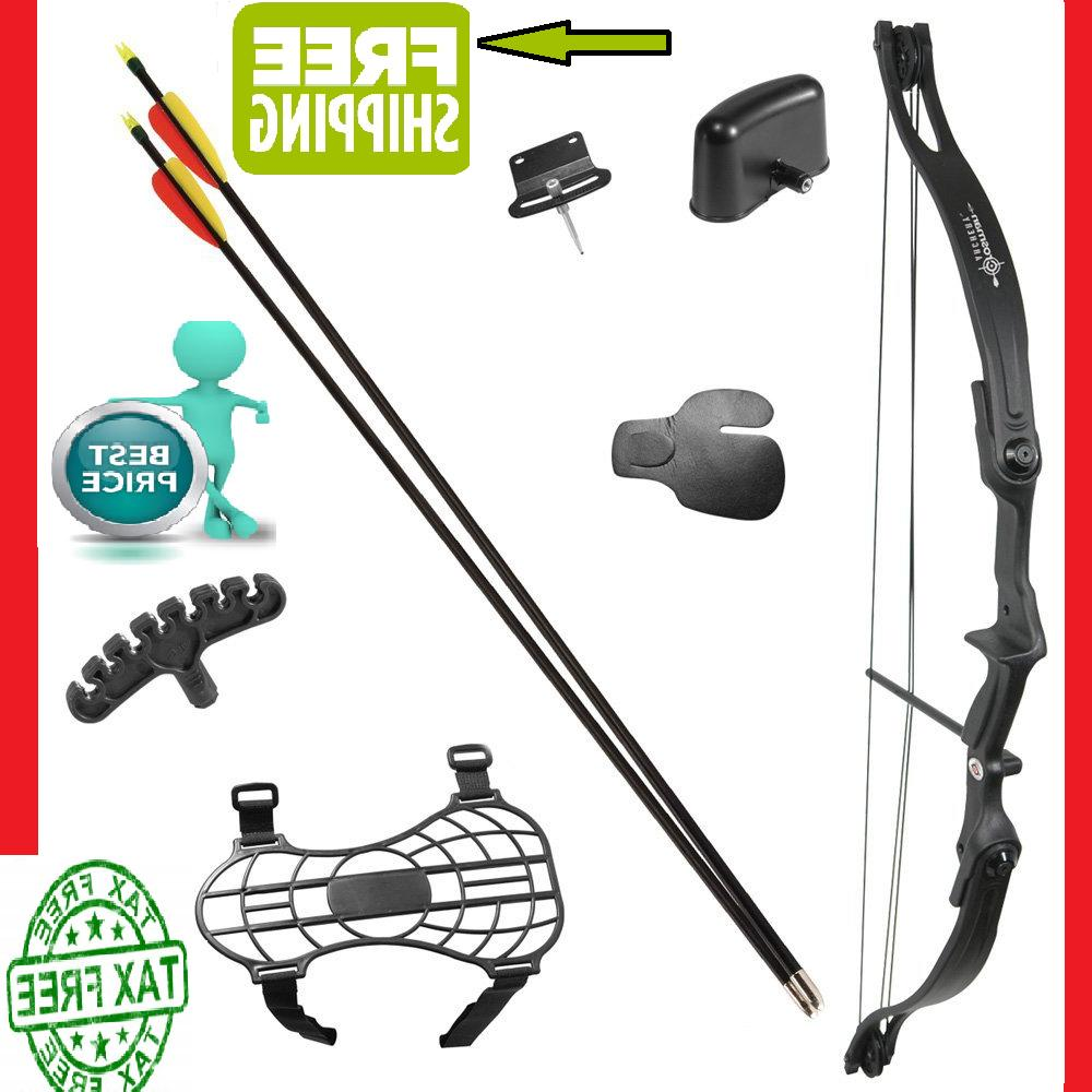 Bow and Arrow Set Compound Kit Target Practice Archery Hunti