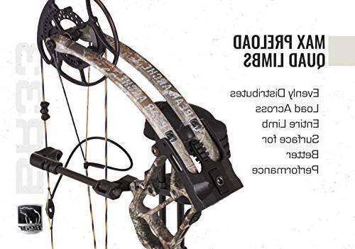 Bear Archery Hybrid Cam Bow Ready to Trophy Ridge