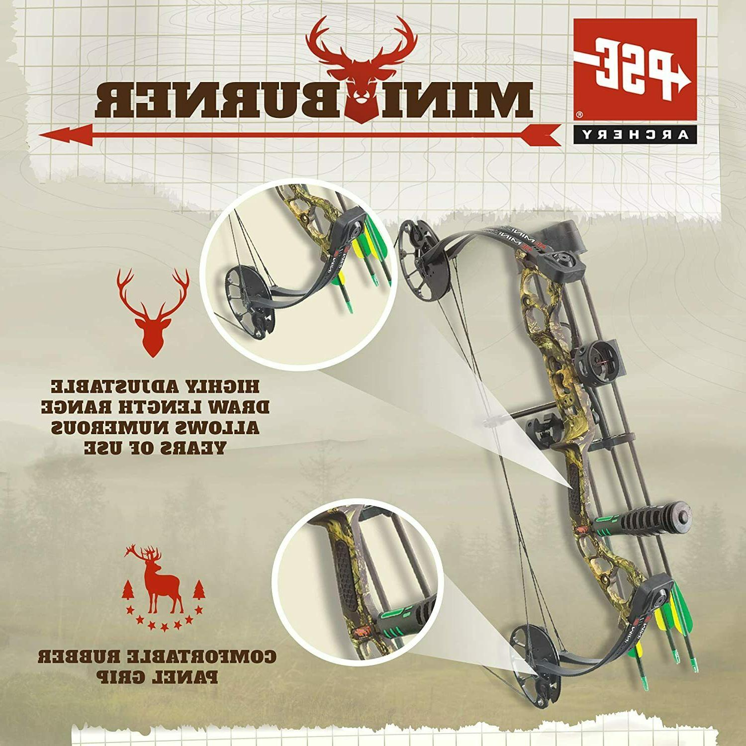 PSE Burner Youth Compound Bow Right Hand