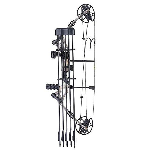 Camouflage Archery Bow Right Carbon Aluminum Alloy Fiberglass for Hunting Practicing
