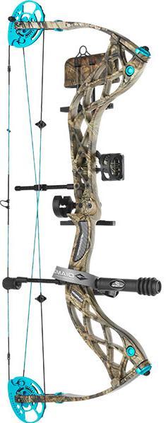 Diamond Archery Carbon Knockout R.A.K. Compound Bow RH 50lb