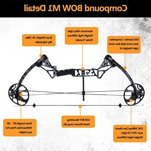 XQMART XGeek Hunting Bow Accessories Kit M1