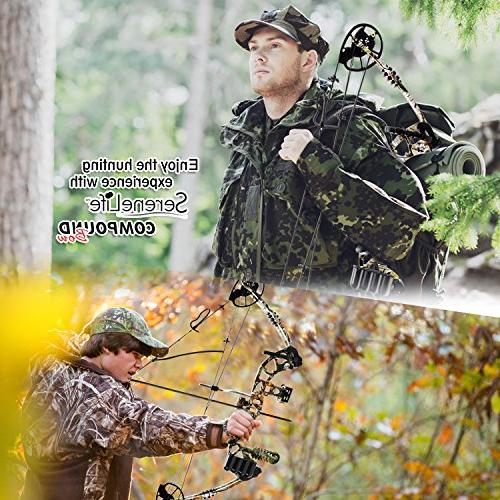 SereneLife & Adjustable Draw Weight lbs with 320 fps - Handed