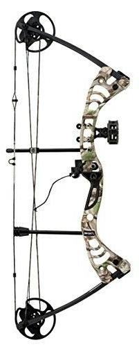 "Compound Bow 19"" - 29"" Archery Hunting Equipment 296 fps Rig"