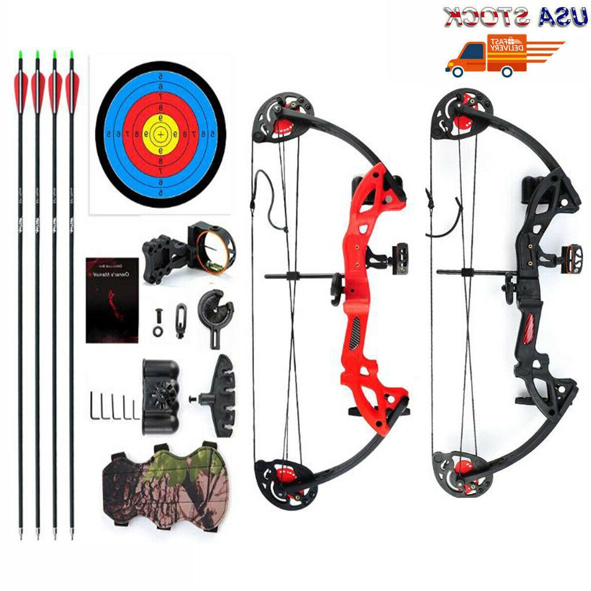 compound bow archery set arrows hunting 19