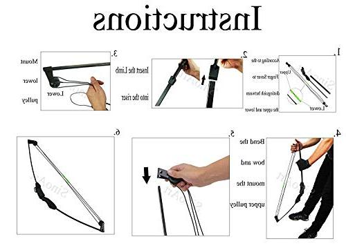 SinoArt Junior Compound Set 4 Arrows for