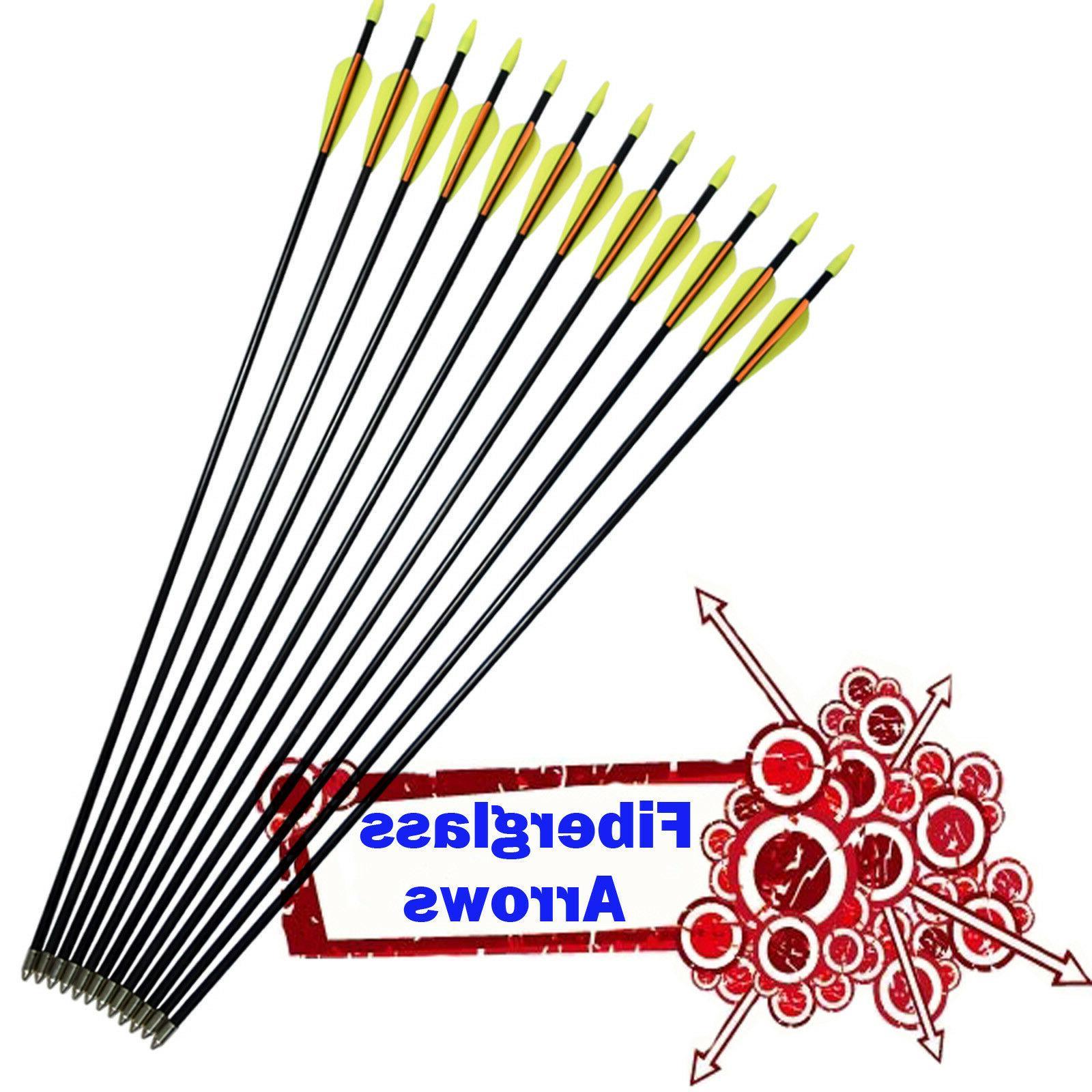 compound bow fiberglass arrows youth archery recurve