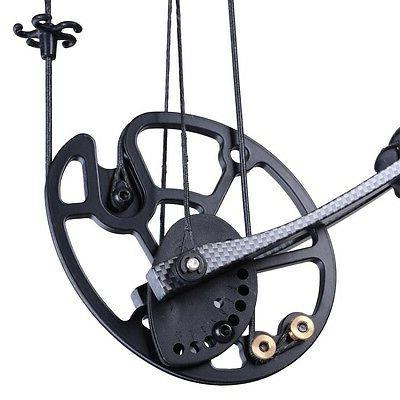 Pro Compound Bow Kit Archery Set Black