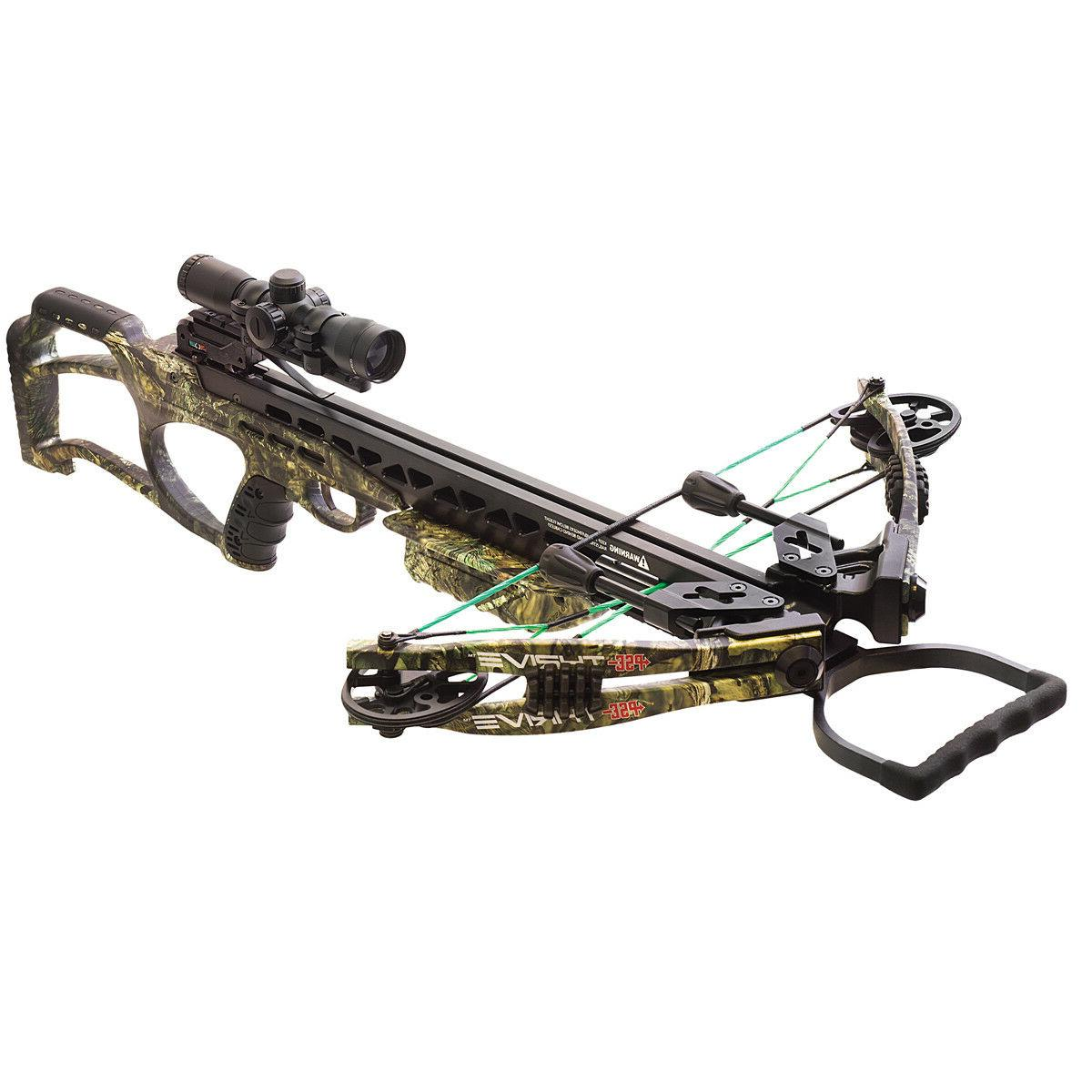 crossbow thrive 365 mossy oak country new