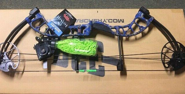 d3 bowfishing compound bow rest reel