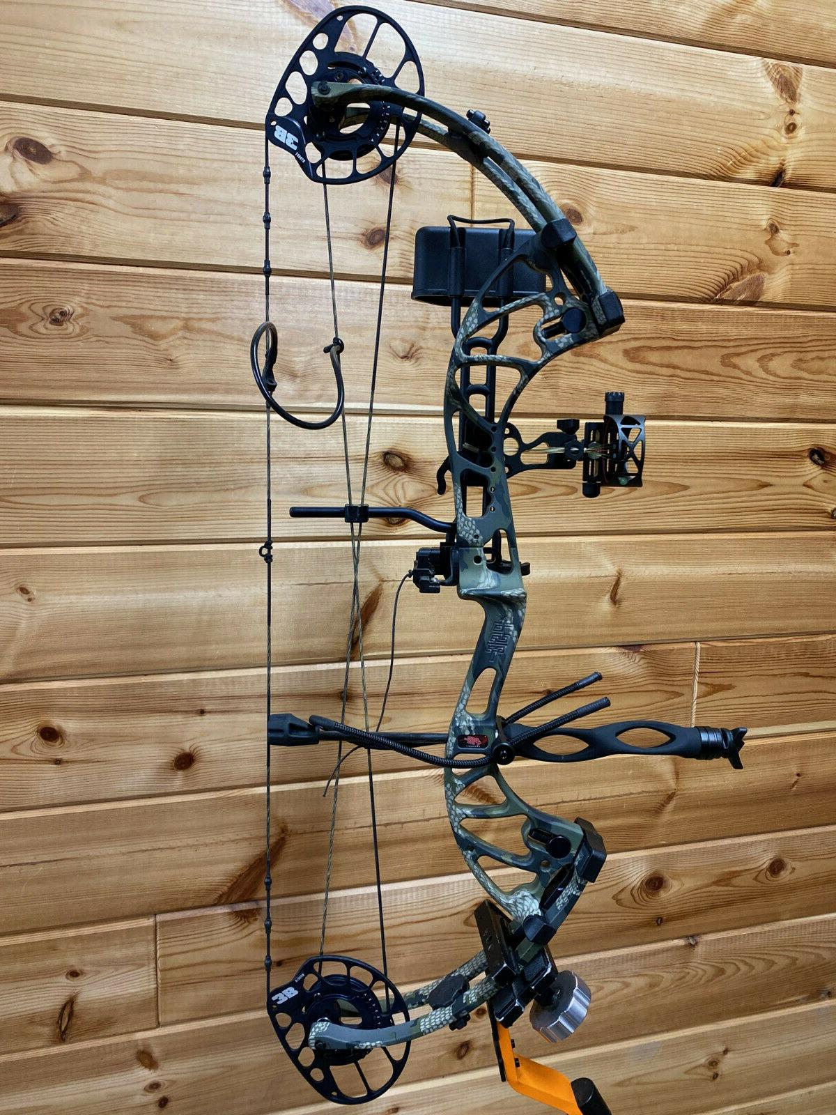 Compound Bow RH Kuiu Verde Camo Package