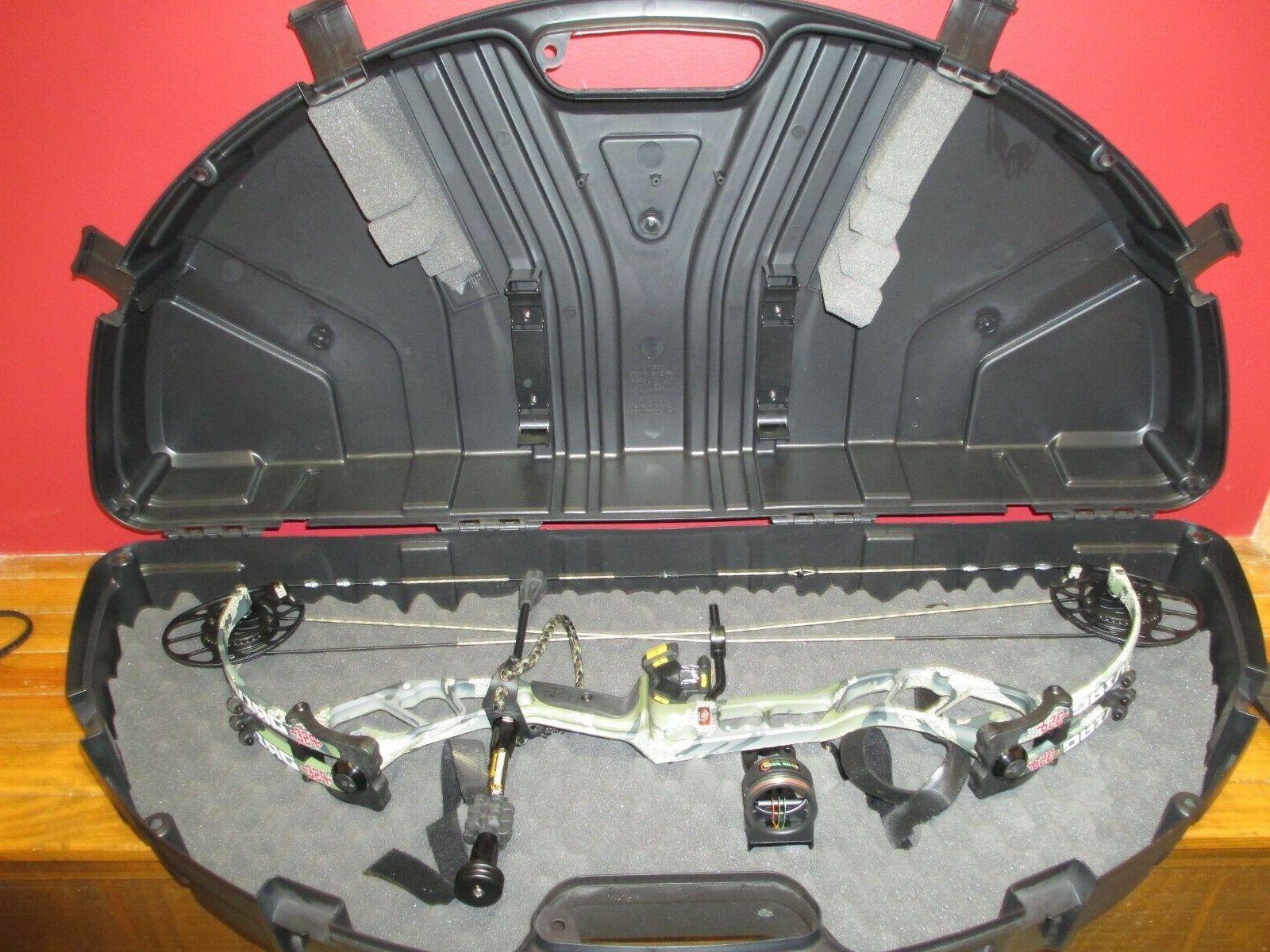 PSE DRIVE 3B XL COMPOUND BOW PKG Bowcase Rest Sight Stabiliz