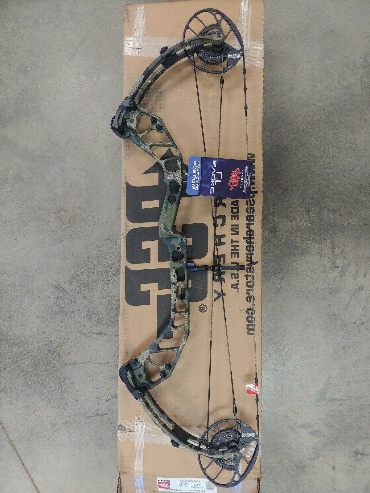 evoke lt compound bow new in box