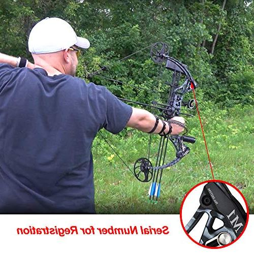 Compound Bow from USA Warehouse,Topoint Draw Draw IBO Limbs Made
