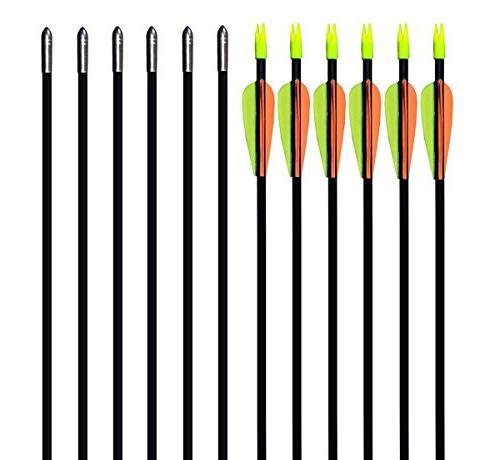 fiberglass archery target arrows
