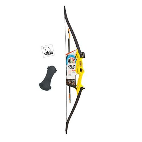 Bear Archery Flash Bow Set-Yellow AYS500YW