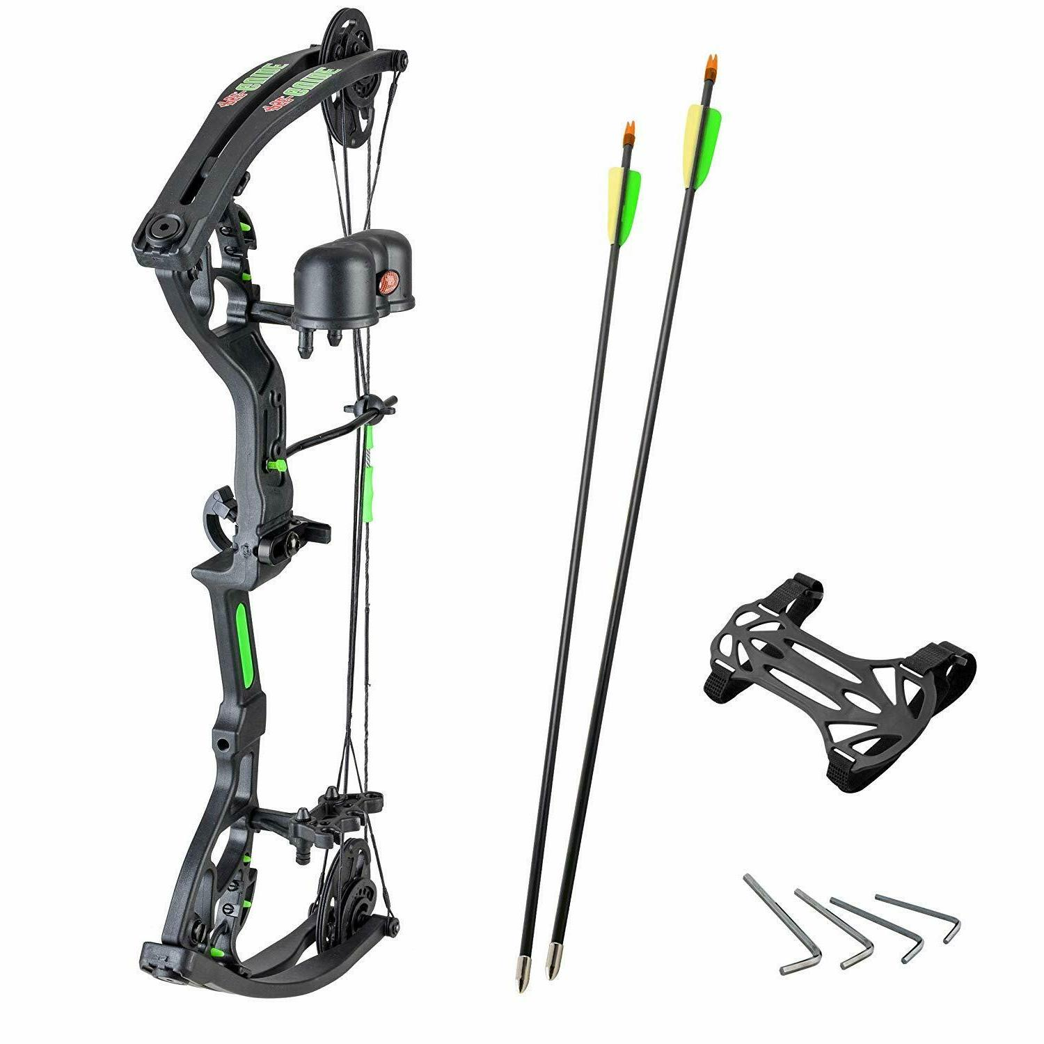 guide kids archery rh compound bow package