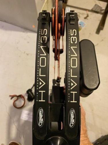 Mathews 32 Hand 70# Black Fully With Case.