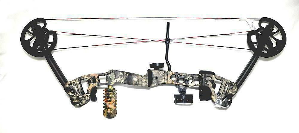 loaded vortex compound bow by 45lbs