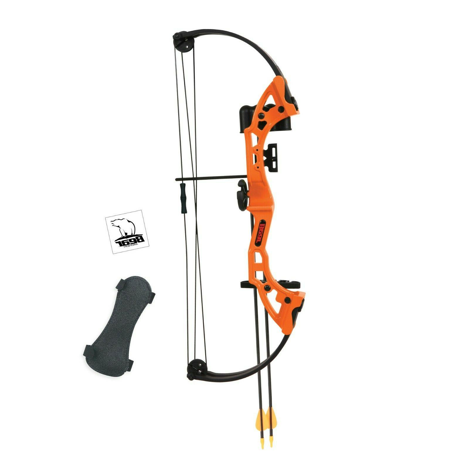 Kids Starter First Compound Bow Arrows Practice