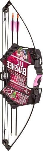 Barnett Lil Banshee Jr. Pink Archery Set BAR-1072P