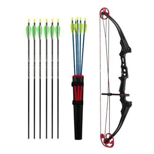 mini bow kit rh black red