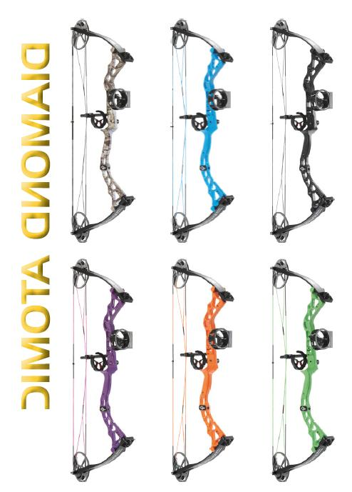 new 2019 atomic youth compound bow rh