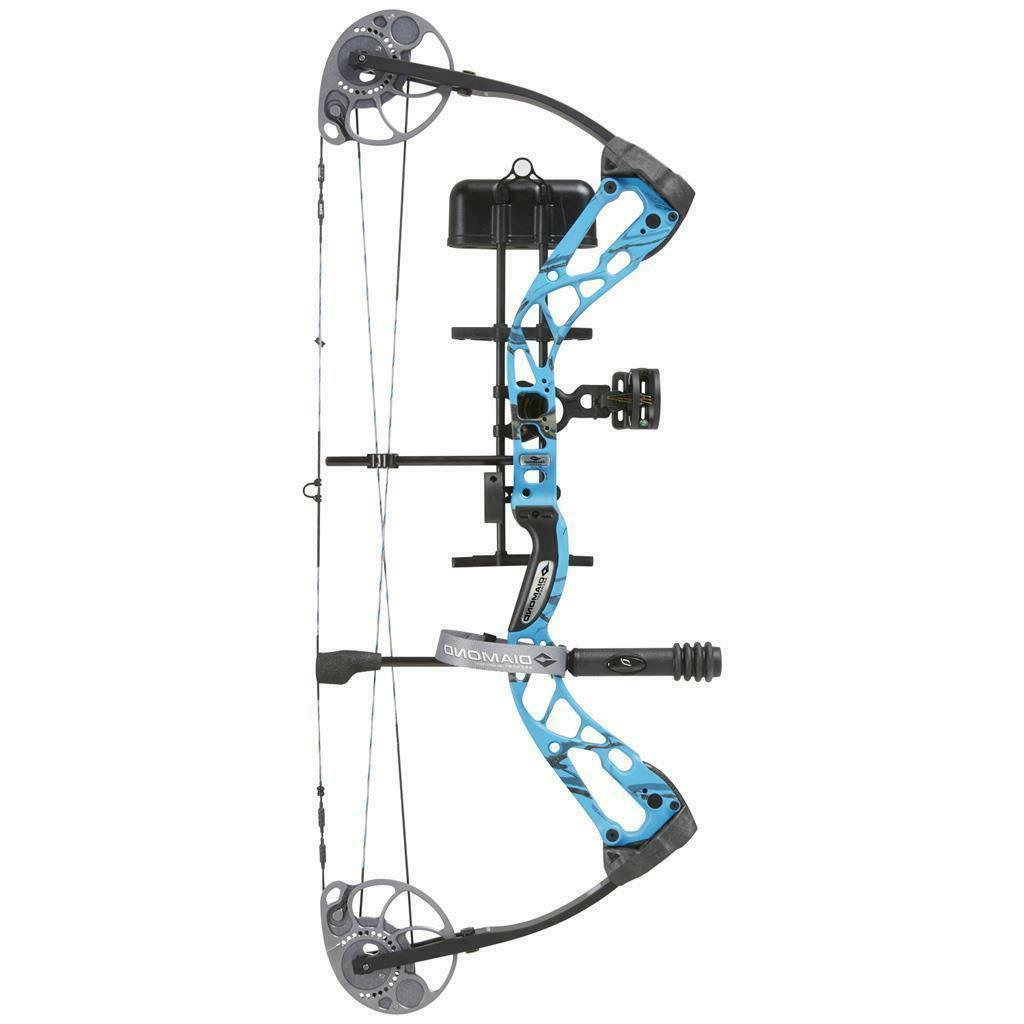 """NEW Diamond Bowtech Infinite SB-1 Package 7-70# 15-30"""" ALL COLORS"""