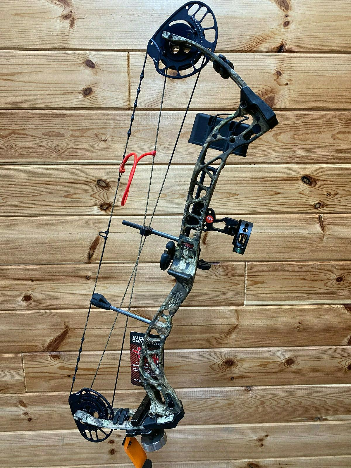 New PSE Brute Force Oak CAMO Hunting Bow