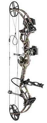 New Bear Archery Marshal RTH 70# Right Hand Bow Package Kana