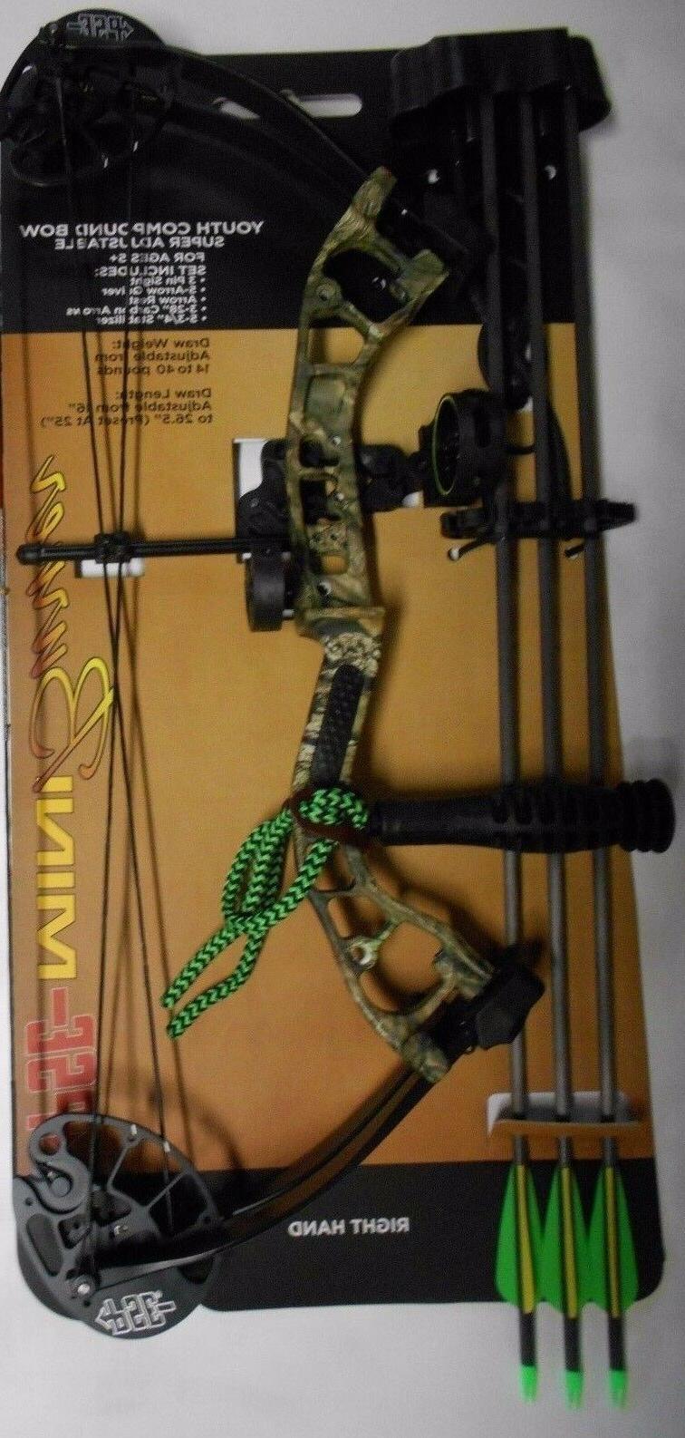 new mini burner youth camo compound bow