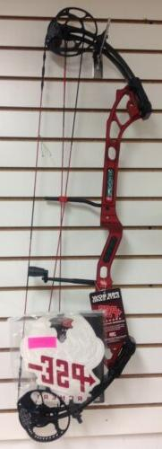 "New PSE Phenom DC Right Hand  40# Red 27.5-33"" Draw  Target"