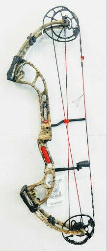 PSE Premonition HD Stiletto 29in 70lb Infinity Camo Bow Only