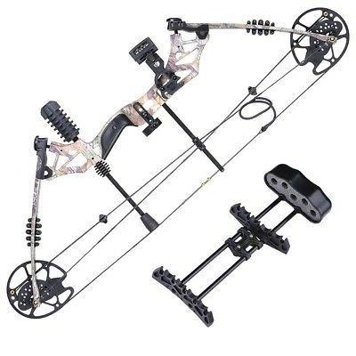 20-70lbs Pro Right Hand Bow Arrow Target Hunting Camo Set