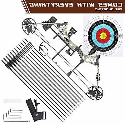 pro compound right hand bow kit arrow