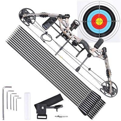 pro compound right hand bow kit arrow